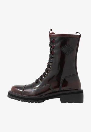 PREMIUM MINOR - Lace-up ankle boots - dark bordeaux