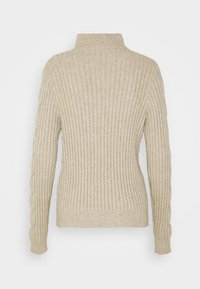 Vila - VIRIL - Jumper - natural melange - 1
