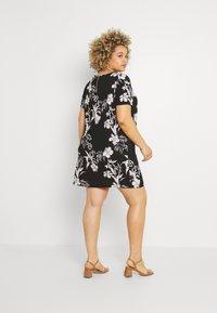 ONLY Carmakoma - CARLUXINA DRESS  - Day dress - black - 2