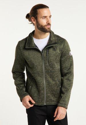 Light jacket - dunkeloliv melange