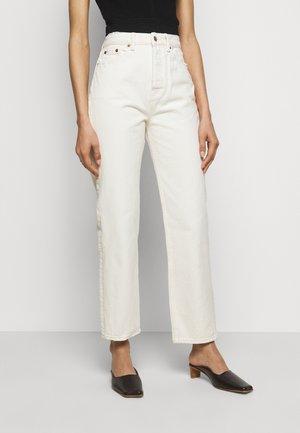 Jeans straight leg - off white