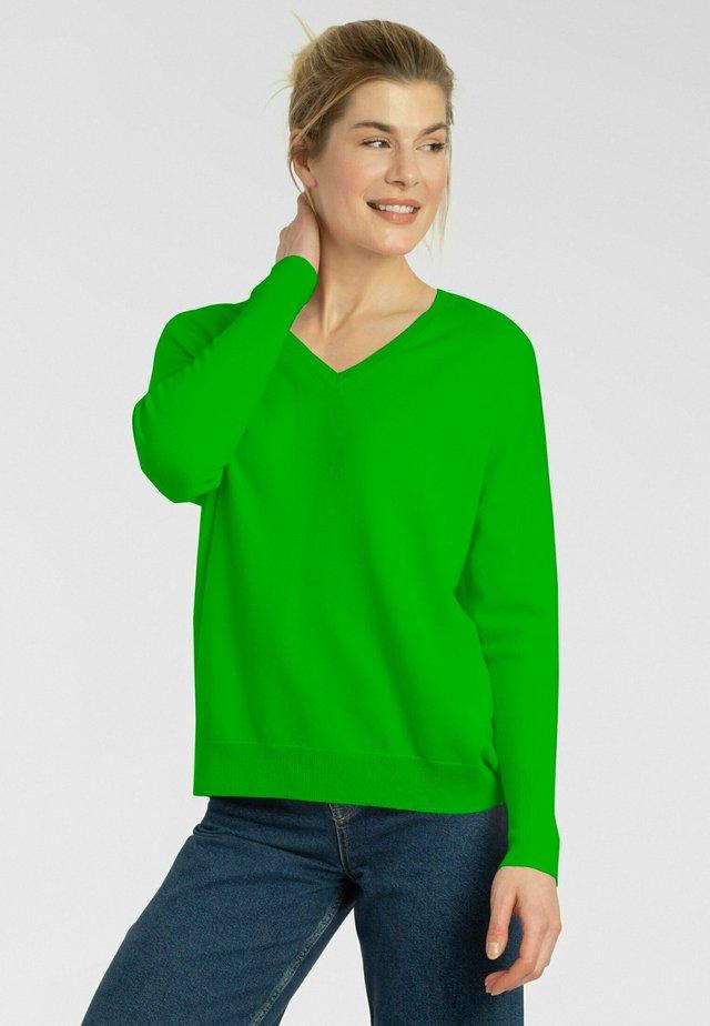 Pullover - spring green