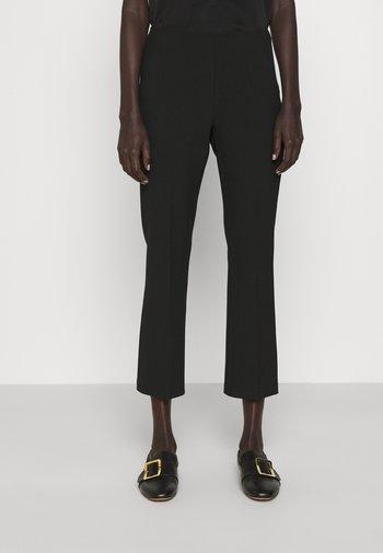 META - Pantalon classique - black