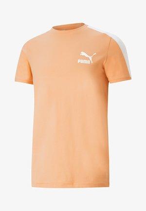 ICONIC  - T-shirt imprimé - peach cobbler