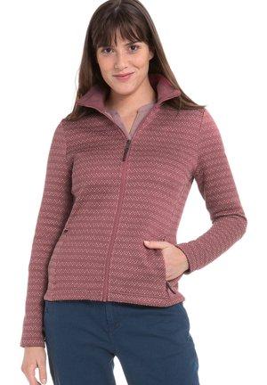 BELGRAD - Fleece jacket - bordeaux