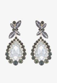 sweet deluxe - PRINCESS - Oorbellen - silver-coloured/diam/cryst - 3