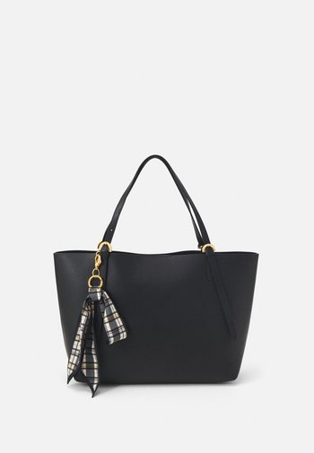 POSEN TOTE SOLID BOW - Tote bag - black