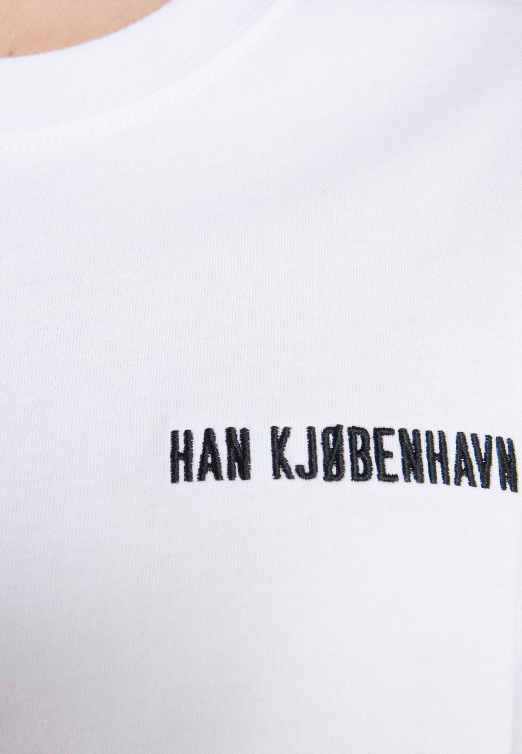 Han Kjobenhavn Casual Tee - T-shirts White/hvit