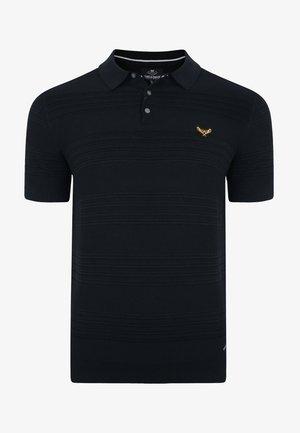 LOW - Koszulka polo - jet black