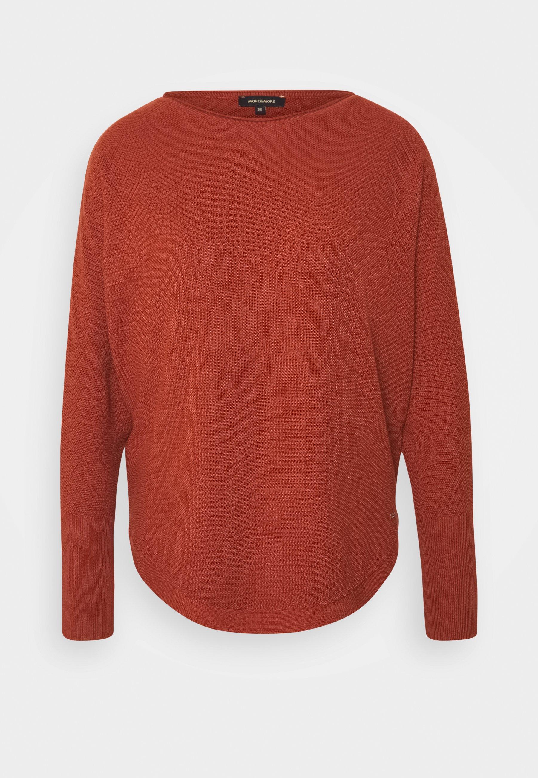 More & More Sweater terracottametallic rood Zalando.nl