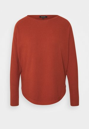 Strickpullover - terracotta