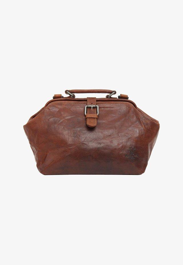 dark brown - Käsilaukku - honey brown