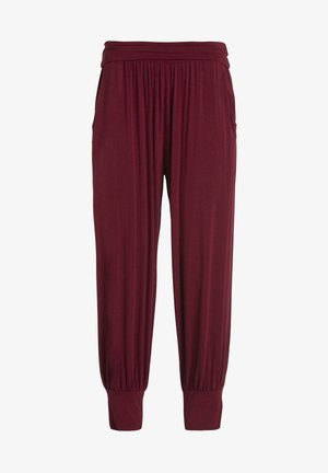 PANTS - Tracksuit bottoms - cassis