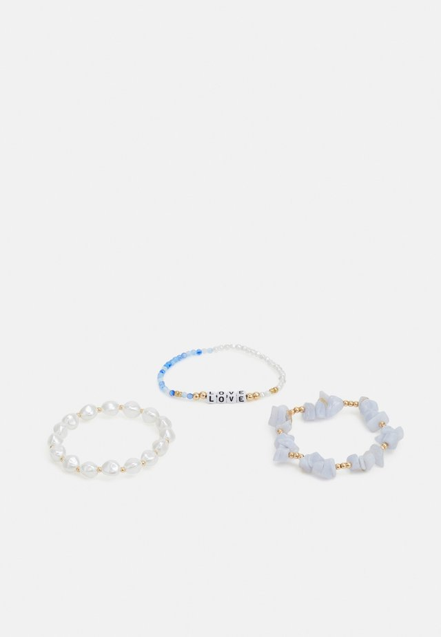 MIXED BEAD BRACELETS 3 PACK - Bransoletka - multi-coloured