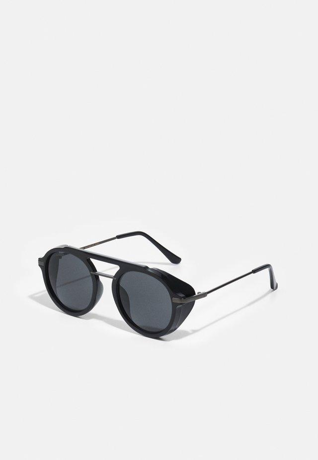 SUNGLASSES JAVA UNISEX - Sluneční brýle - black/gunmetal