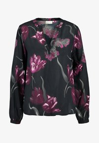 Kaffe - Blouse - black deep - 3