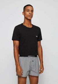 BOSS - 2 PACK - Pyjama bottoms - black - 1