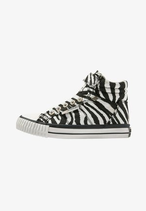 DEE - High-top trainers - zebra