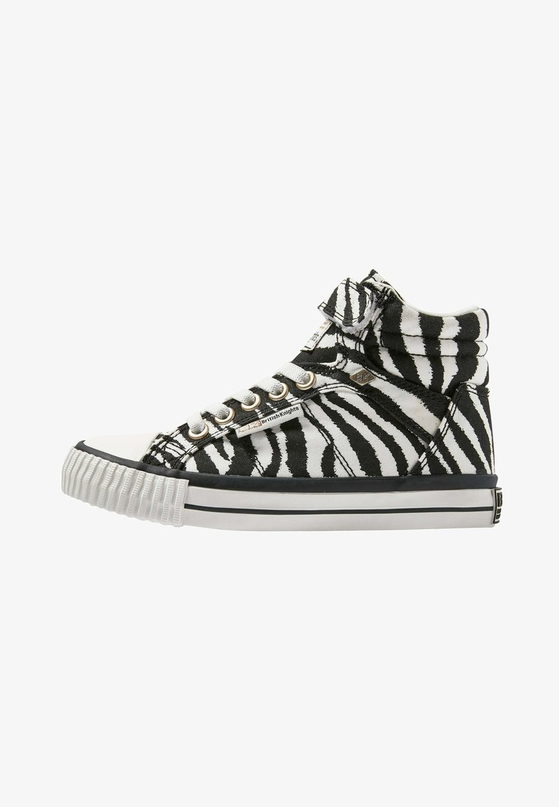 British Knights - DEE - High-top trainers - zebra