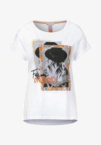 Street One - Print T-shirt - weiß - 3