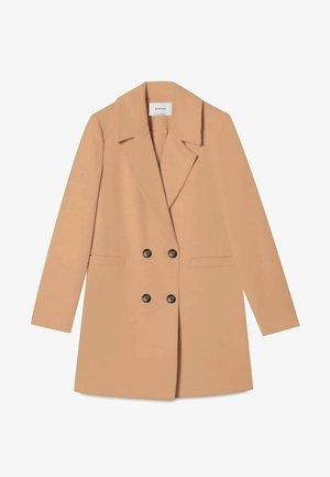 BASIC - Classic coat - beige