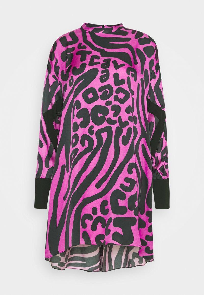 Just Cavalli - Denní šaty - pink