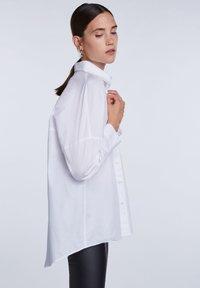 SET - Button-down blouse - bright white - 3