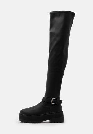 Botas mosqueteras - black