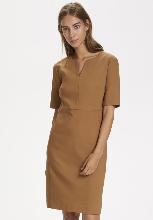 ZELLA - Korte jurk - winter beige