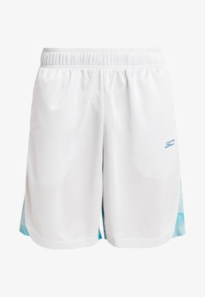 Sports shorts - halo gray/teal vibe