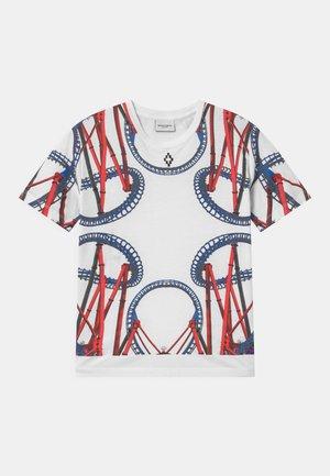 ROLLER COASTER - Print T-shirt - bianco