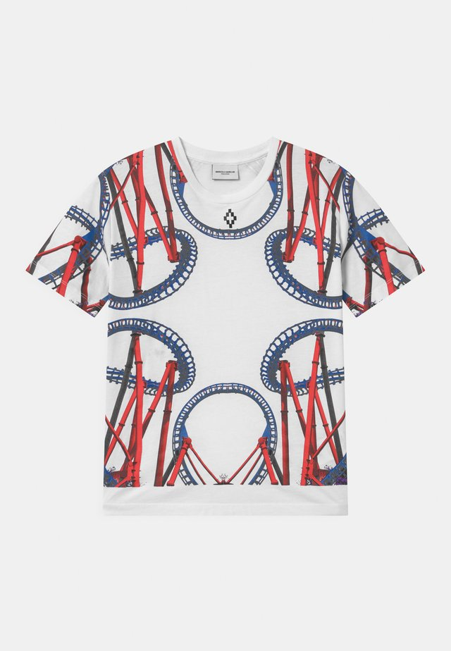 ROLLER COASTER - T-shirt con stampa - bianco