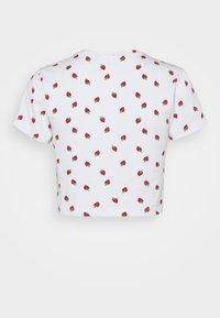 Even&Odd Petite - 3 PACK - T-shirt med print - black/light grey/multi-coloured - 2