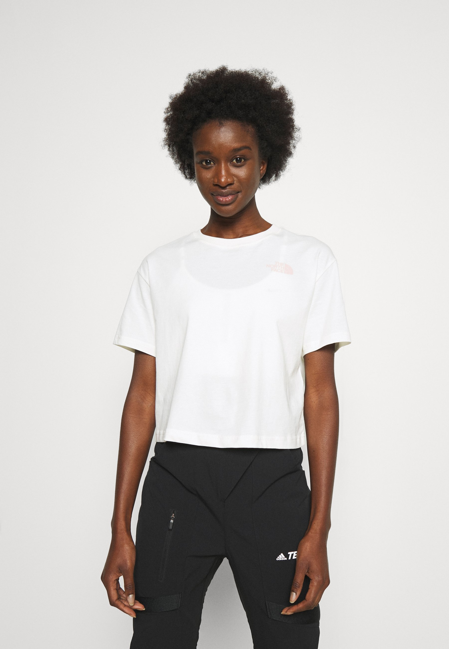 Femme CROPPED SIMPLE DOME TEE  - T-shirt basique
