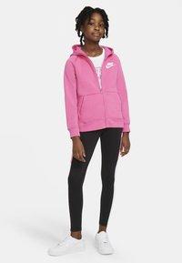 Nike Sportswear - FULL ZIP - Hoodie met rits - pinksicle/white - 1