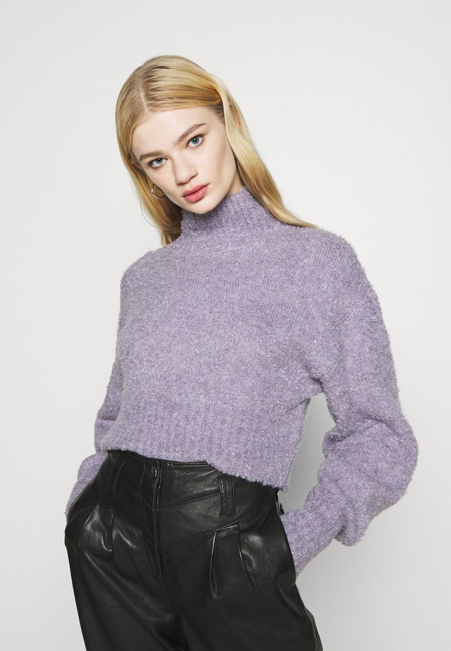 FIONA - Pullover - purple