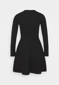 edc by Esprit - FIT AND FLARED - Day dress - black - 1