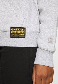 G-Star - PREMIUM CORE HOODED SW WMN L\S - Jersey con capucha - grey - 5