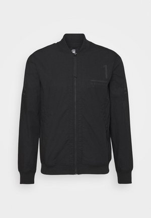 BASEBALL ZIP THROUGH  - Bomberjacks - dark black