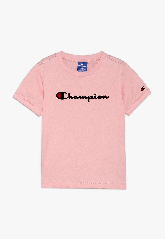 ROCHESTER CHAMPION LOGO CREWNECK - Print T-shirt - light pink