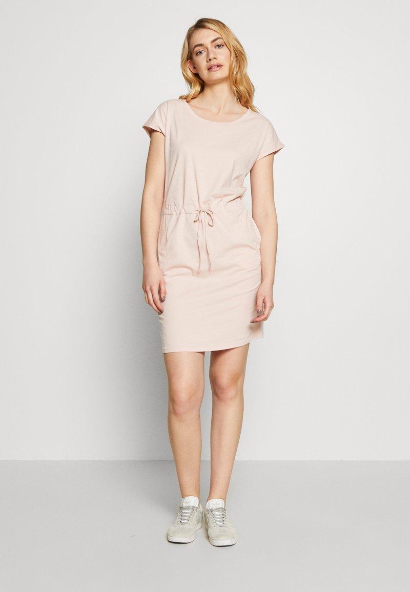 Vero Moda Tall - VMAPRIL SHORT DRESS 2 PACK - Jersey dress - khaki/rose