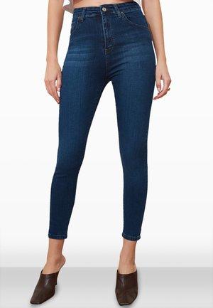Jeansy Skinny Fit - navy blue