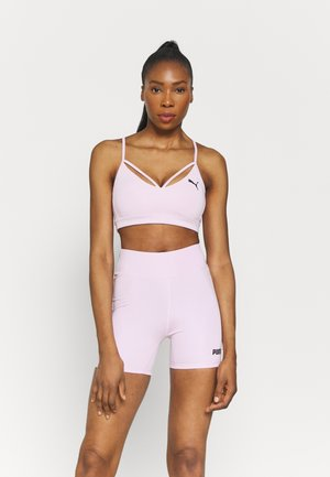 PAMELA REIF X PUMA STRAPPY BRA - Light support sports bra - wisnome orchid