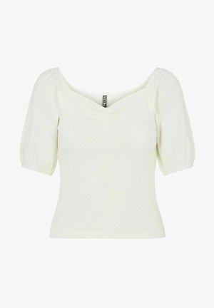 Basic T-shirt - cloud dancer