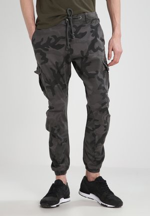 Cargo trousers - grey camo