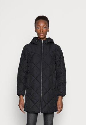 DIAMCOAT - Krátký kabát - black