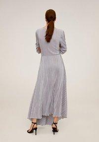 Mango - ZAFIRO-A - Maxi dress - silber - 1