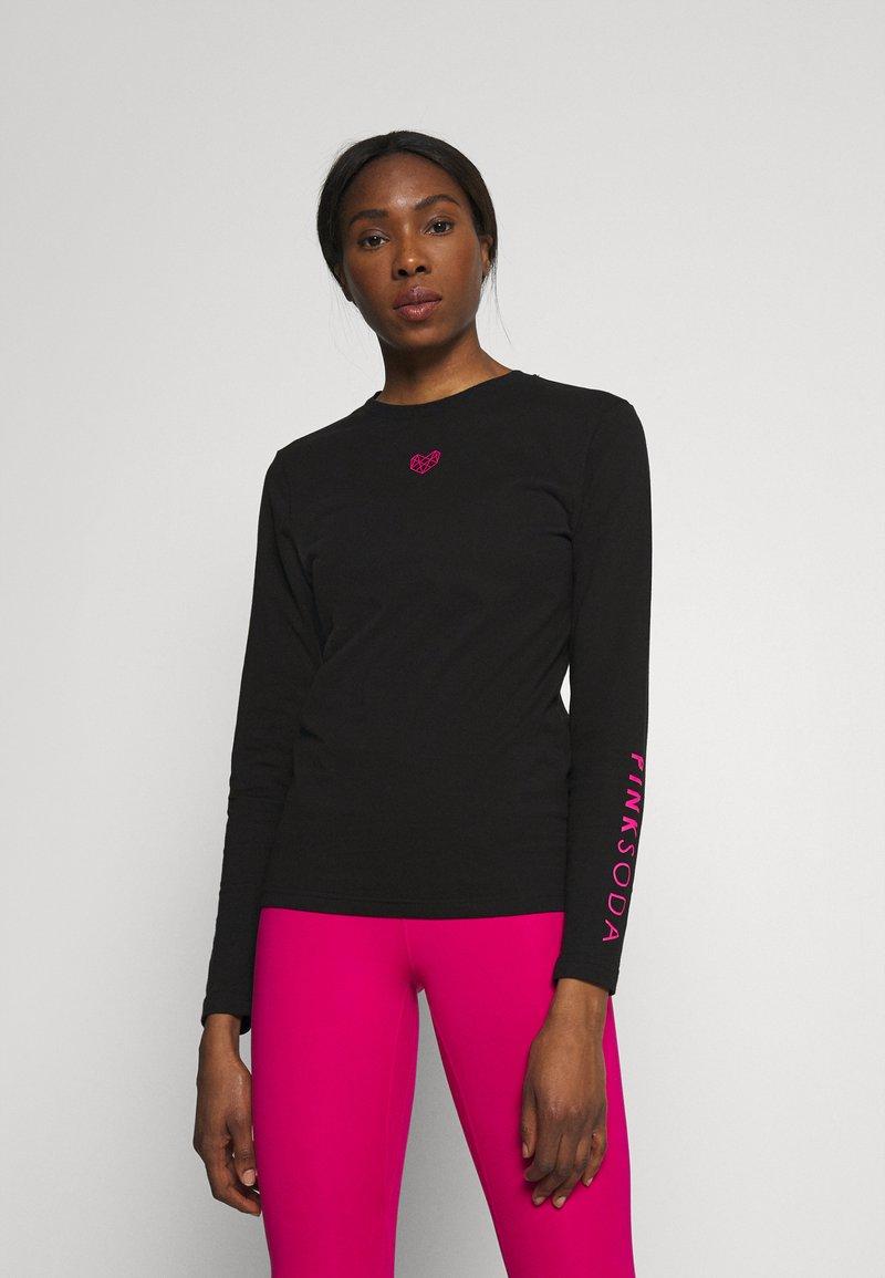 Pink Soda - BRIA  - Pitkähihainen paita - black