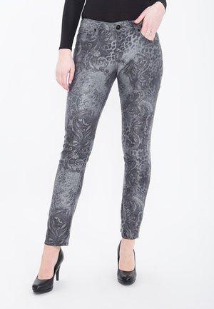 Slim fit jeans - anthrazit