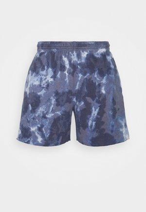 JOGGER UNISEX - Shorts - blue tie dye